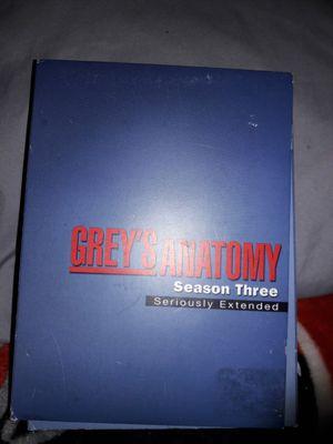 GREY'S ANATOMY (season 3) for Sale in Phoenix, AZ