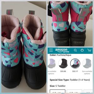 BRAND NEW NORTHSIDE TODDLER GIRLS SNOW BOOT SIZE 5 for Sale in Bellingham, WA