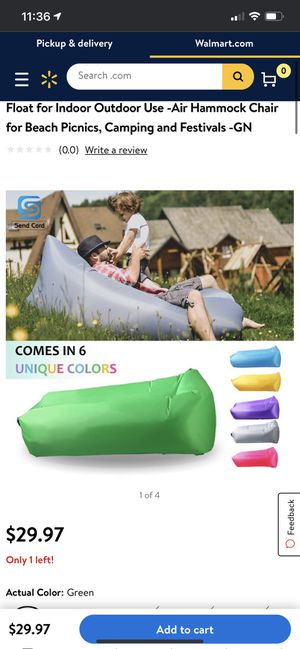 Inflatable camping couch outdoor couch for Sale in Redondo Beach, CA