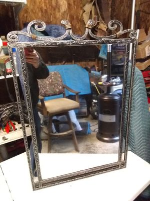 Metal frame wall mirror for Sale in Old Town Manassas, VA