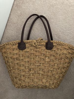 San Diego hat company Straw tote bag for Sale in Fairfax, VA