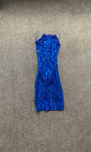 Sequin Blue Fashionova Dress for Sale in Cleveland Heights, OH