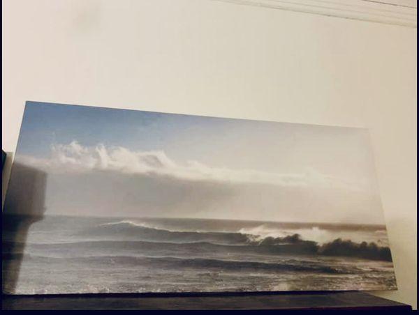 Canvas Print Ocean Wall Art Framed