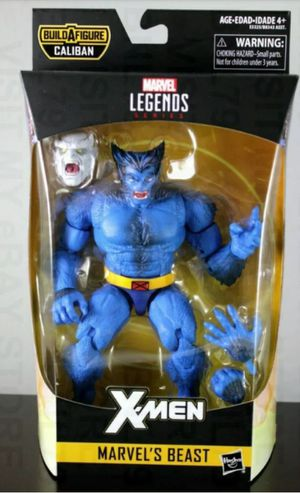 Marvel Legends X-Men Beast Collectible Action Figure Toy with Caliban Build a Figure Piece for Sale in Chicago, IL