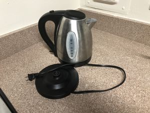 Stainless Steel Electronic Kettle 1.7-Liter for Sale in Germantown, MD