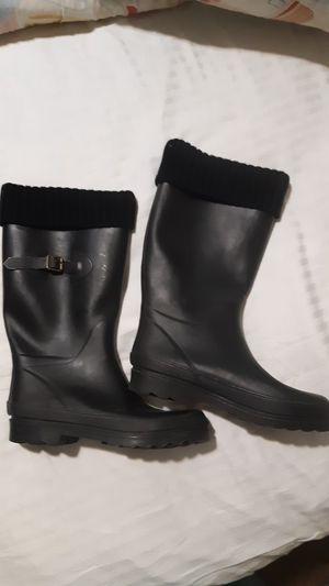Black Rain Boots Women's Size 8 for Sale in Bakersfield, CA