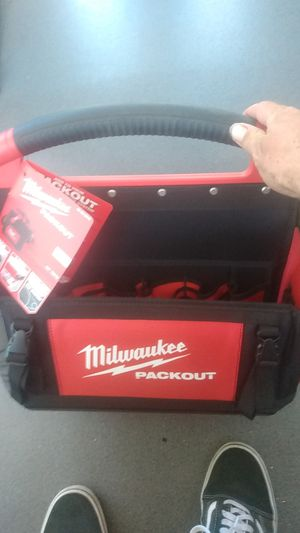Milwaukee 15 inch packout tote for Sale in Orcutt, CA