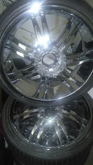 20 inch chrome rims for Sale in Avondale, AZ