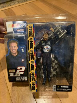 Rusty Wallace Action Figure (NASCAR) for Sale in Turlock, CA