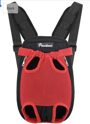 Pawaboo Pet Carrier Backpack, Adjustable Pet Front Cat Dog Carrier Backpack Travel Bag - Medium for Sale in Hayward, CA