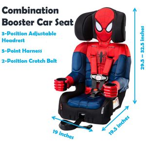 Booster Car Seat, Marvel Spider-Man for Sale in Las Vegas, NV