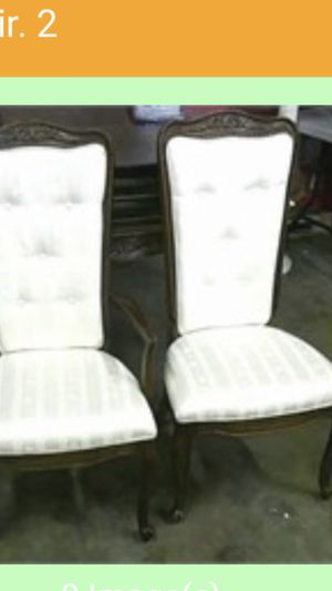 6 Dinning chairs for Sale in Fairfax, VA