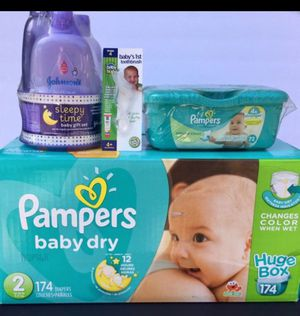 Pampers Diapers Baby Bundle $40 for Sale in Lake Forest, CA