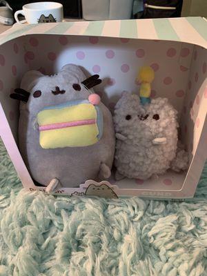 Pusheen birthday stuffed animals for Sale in Vallejo, CA