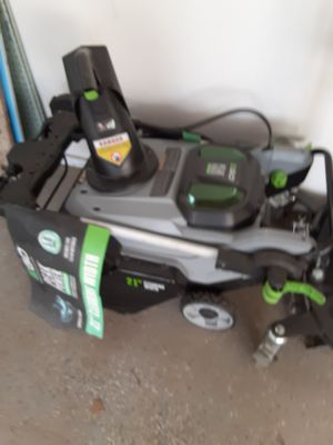 EGO SNOW BLOWER cheswick for Sale in Springdale, PA