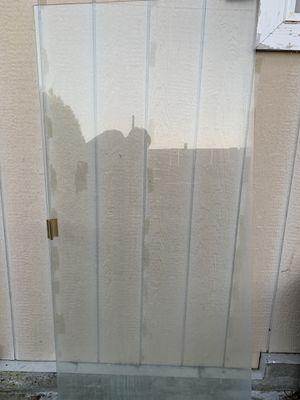 Shower door / tempered glass for Sale in Kent, WA