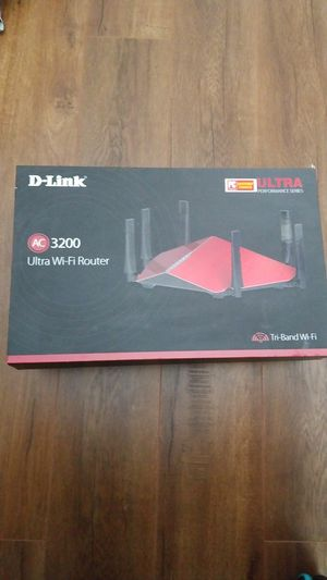 D-link AC3200 ultra wifi router for Sale in Chula Vista, CA
