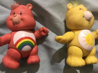1983 Vintage care bear figurines for Sale in Fresno,  CA