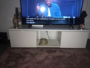 Ikea Byas TV Stand High Gloss White for Sale in Plantation, FL