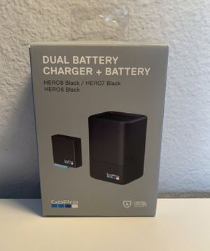NIB GoPro HERO7 HERO6 HERO5 Black Dual Battery Charger and Battery for Sale in Los Angeles, CA