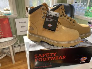 Dickies Work Boots men size 9 1/2, 10. for Sale in Monroe, CT