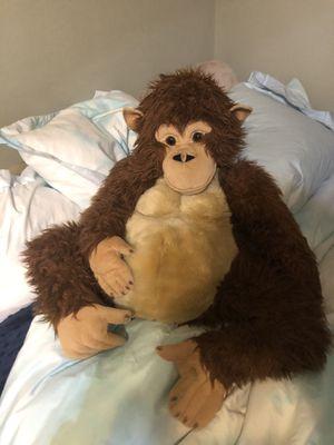 FAO schwarz giant stuffed monkey for Sale in Rancho Palos Verdes, CA