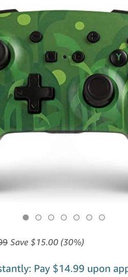 PowerA Pokemon Enhanced Wireless Controller for Nintendo Switch - Grookey for Sale in Los Angeles,  CA