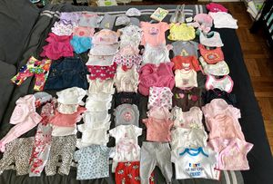 80 piece lot of baby girl clothes for Sale in Washington, DC