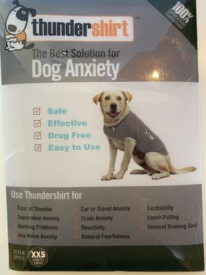 Thunder Shirt Comfort Vest for Dogs, XXS (NEW) for Sale in Issaquah, WA