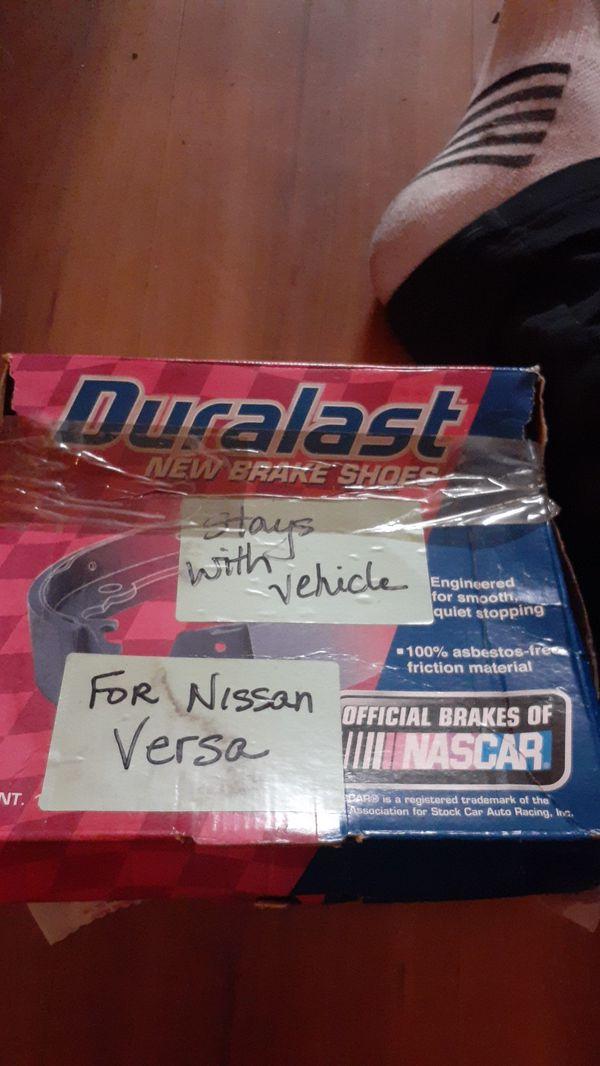 Duralast new brake shoes