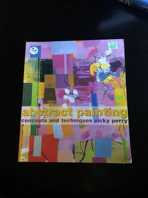 Art book - abstract painting by Vicky perry for Sale in Austin, TX