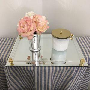 Vintage Mirrored Vanity Tray for Sale in St. Petersburg, FL