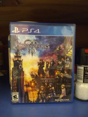Kingdom hearts 3 never used for Sale in Seattle, WA