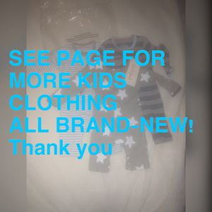 SEE PAGE FOR NEW KIDS CLOTHING for Sale in Seffner, FL