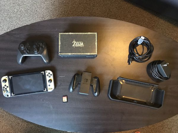 Nintendo Switch with Controller and Game