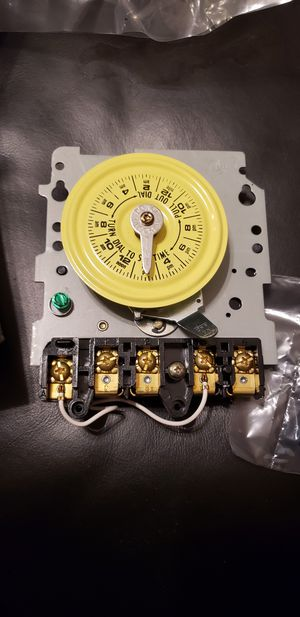 Pool Motor Time Switch for Sale in Pearland, TX