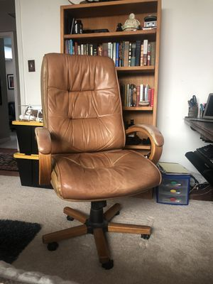 Lane Furniture Leather Desk Chair for Sale in Walnut Creek, CA