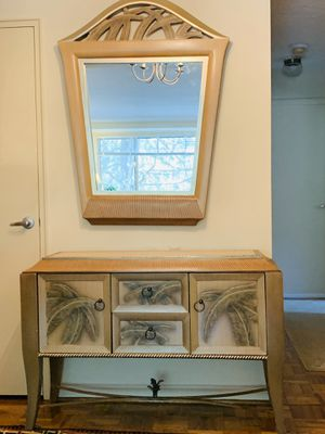 Neiman Marcus Mirror and Console Table for Sale in Washington, DC