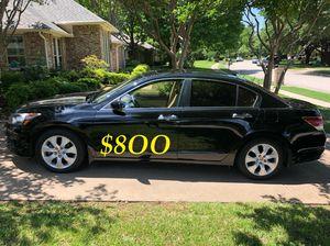 🔥🔥$8OO URGENT I sell my family car 2OO9 Honda Accord Sedan V6 EX-L 𝓹𝓸𝔀𝓮𝓻 𝓢𝓽𝓪𝓻𝓽 Runs and drives very smooth.🍁🍁 for Sale in New York, NY