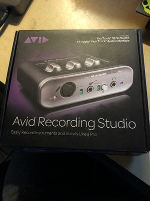 M-Audio Fast Track Audio Interface for Sale in San Diego, CA