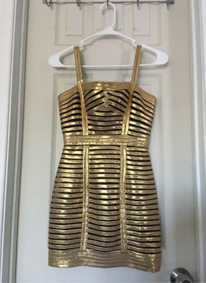 Women's gold dress for Sale in Los Angeles, CA