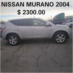 NISSAN MURANO 2004* 2 ROWS SEATS* CLEAN TITLE IN HAND* 190000+ MILES* IT PASSES SMOG * IT RUNS GOOD* HABLO ESPAÑOL* for Sale in Las Vegas, NV