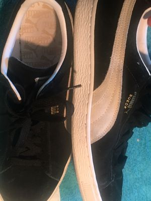 Black pumas suede size 11 for Sale in Seattle, WA