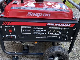 Snap On SR 3000 Generator for Sale in Renton,  WA