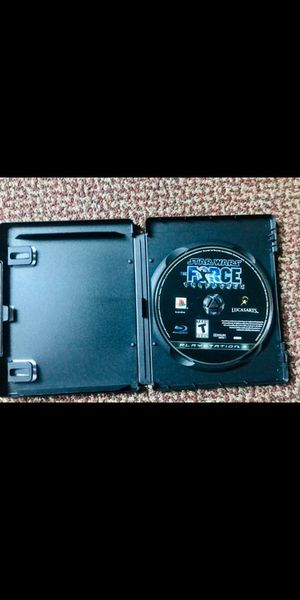 Star Wars the force unleashed ps3 for Sale in Raleigh, NC