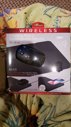 WIRELESS Charging Pad & Rechargeable Mouse for Sale in Winston-Salem, NC