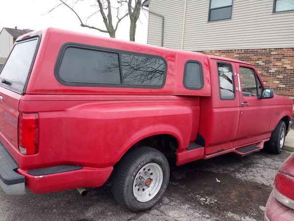 F150 camper shell for sale or trade