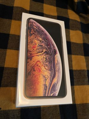 Brand new Sealed factory unlocked iPhone XS Max Gold works any carrier I can deliver too for Sale in Hayward, CA