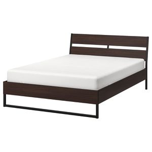 Queen bed frame + 2 night stands - IKEA Trysil for Sale in Seattle, WA