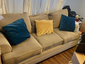 7ft, 3 Seat Sleeper Sofa, Queen Size Pull Out Mattress, Brand New for Sale in Garden Grove,  CA